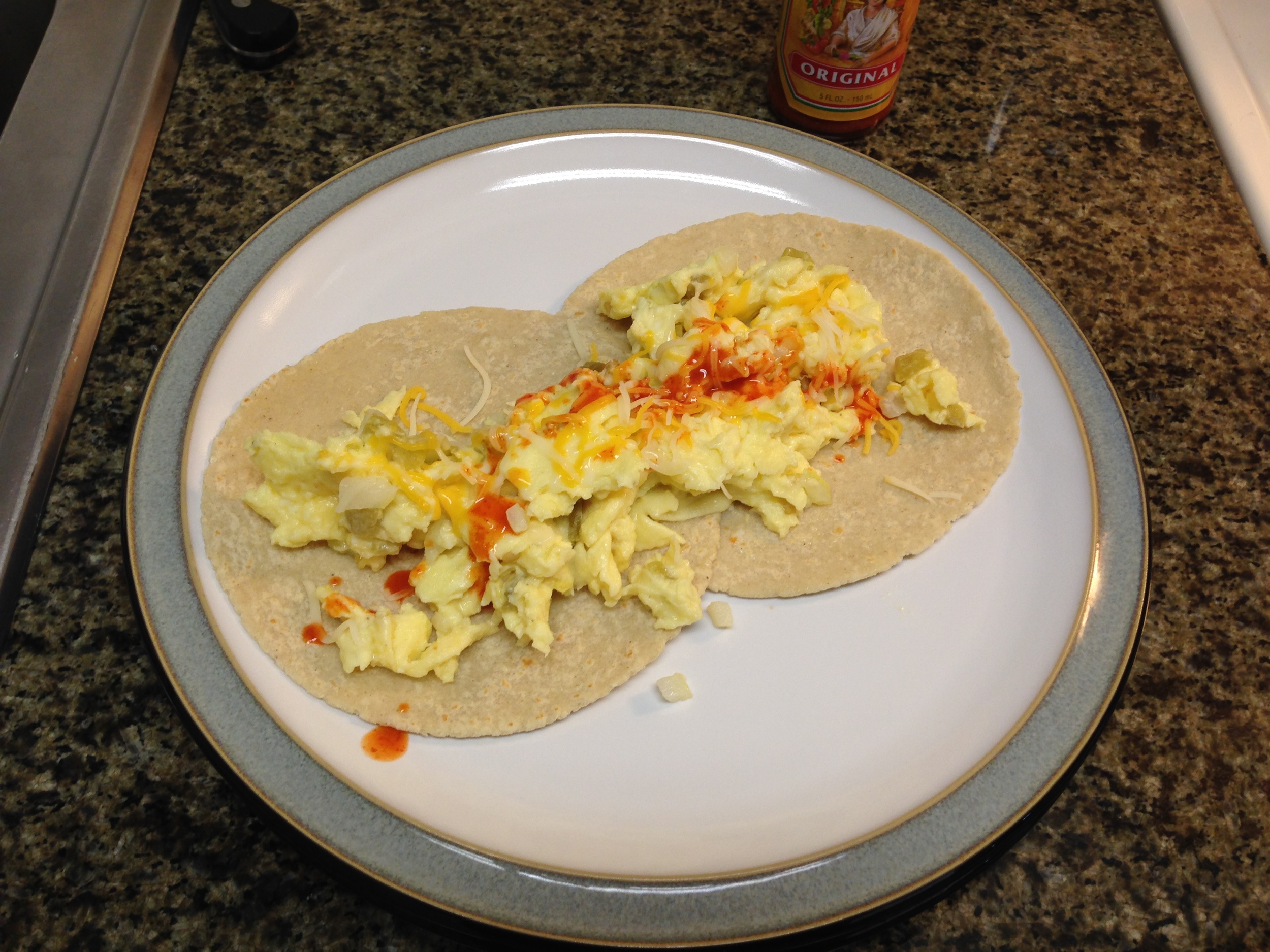 Jeff's eggs.