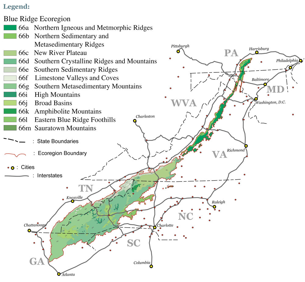About the Blue Ridge Mountains — Blue Ridge Discovery Center
