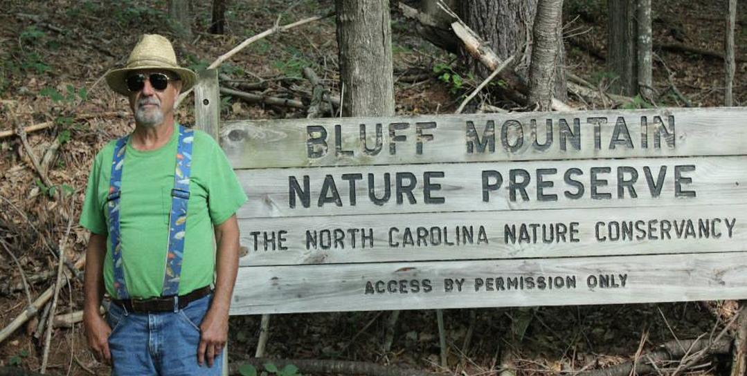Naturalist Doug Munroe