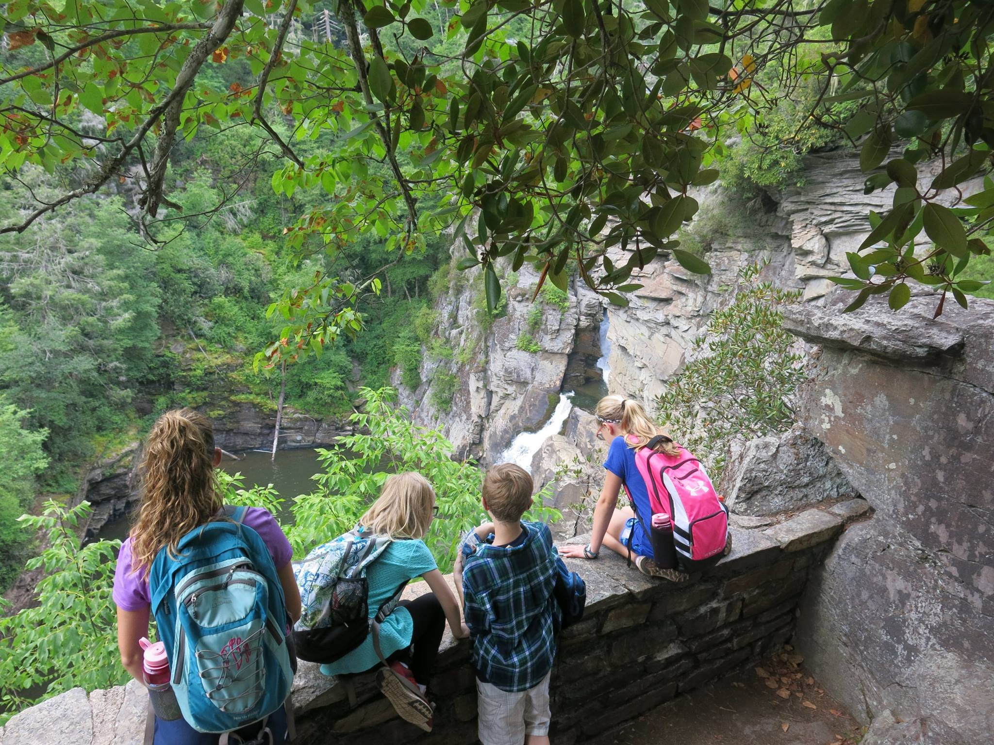 Young Explorers Club Hike to Linville Falls — Blue Ridge