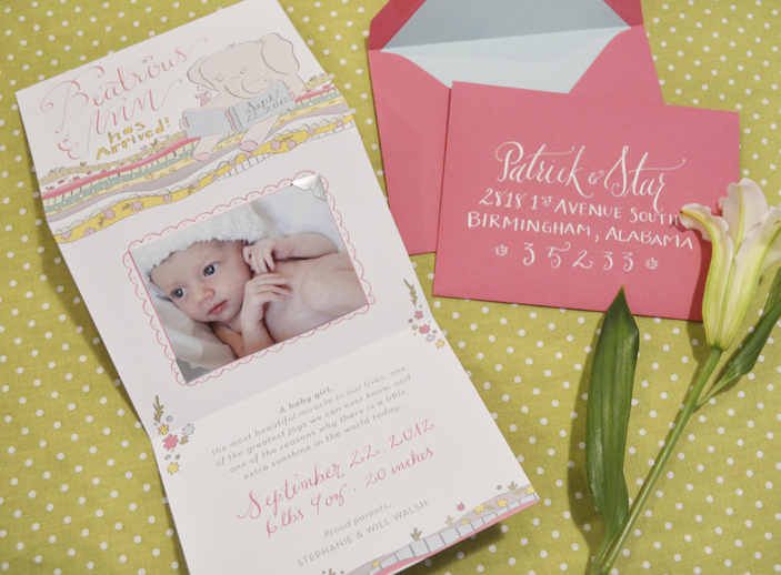 Kara Anne Paper Baby Announcement.JPG