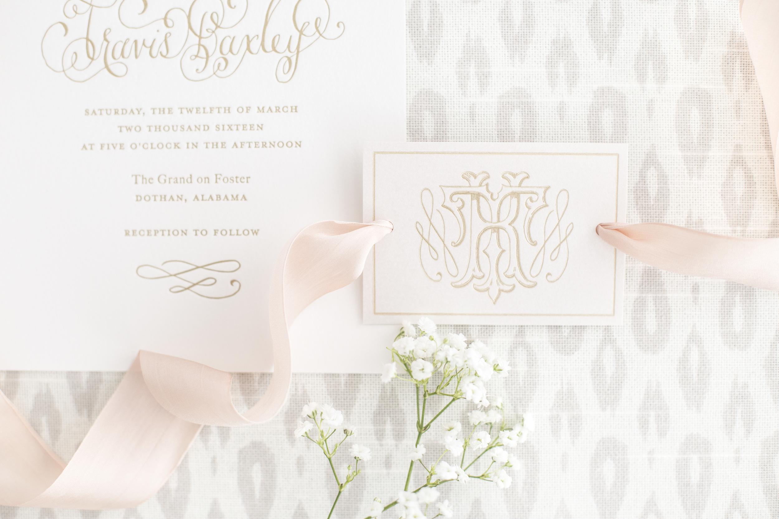 Kara Anne Paper_Kaitlyn & Travis Wedding Monogram card.JPG