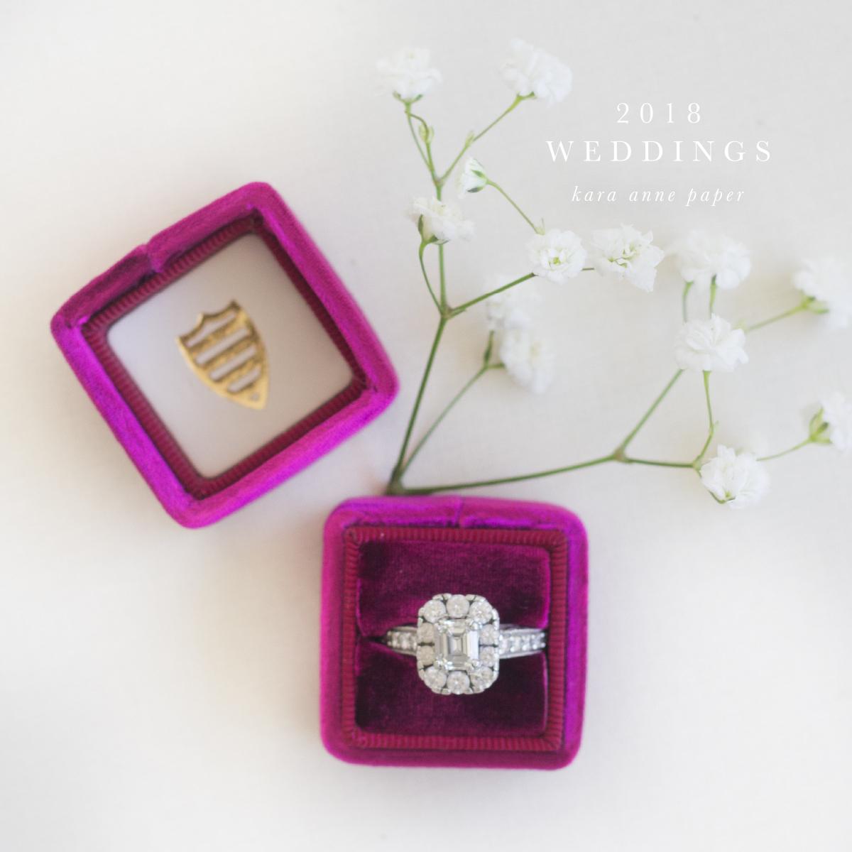 Kara Anne Paper  |  Heirloom Wedding Paper