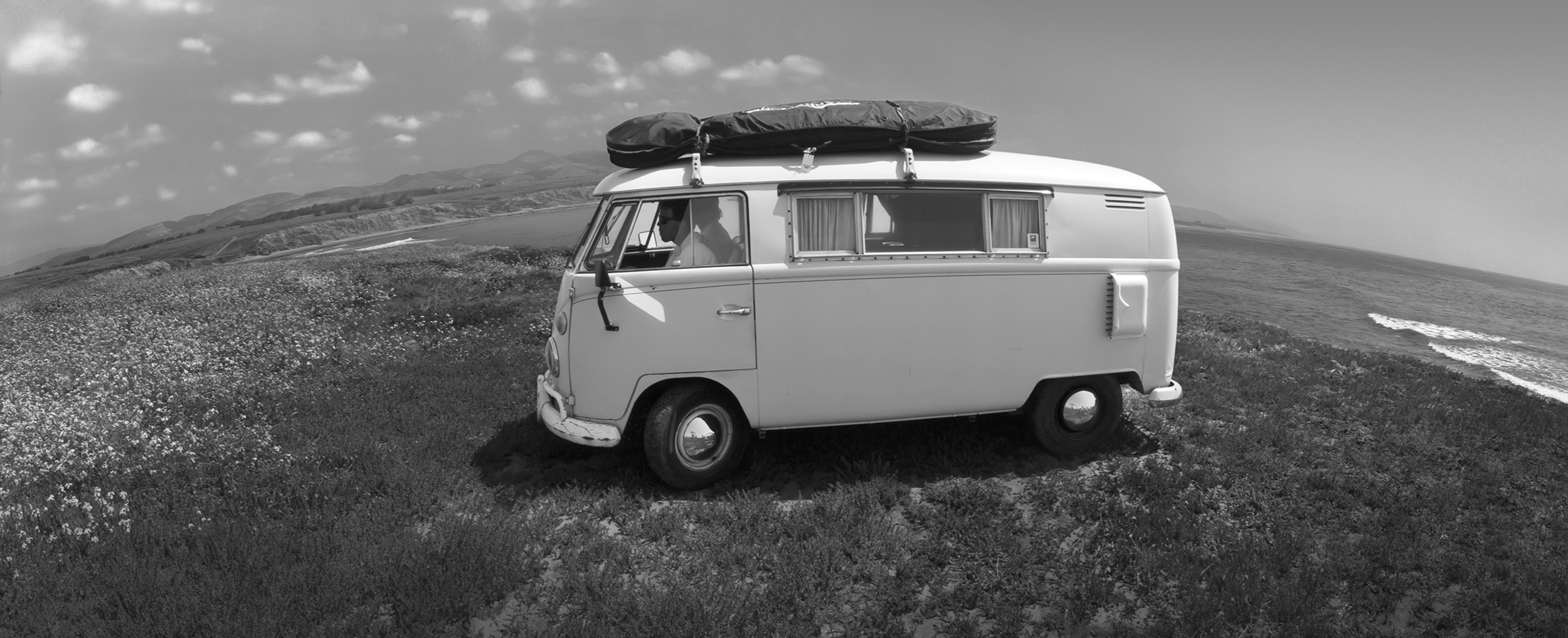 '66 microbus @Cojo