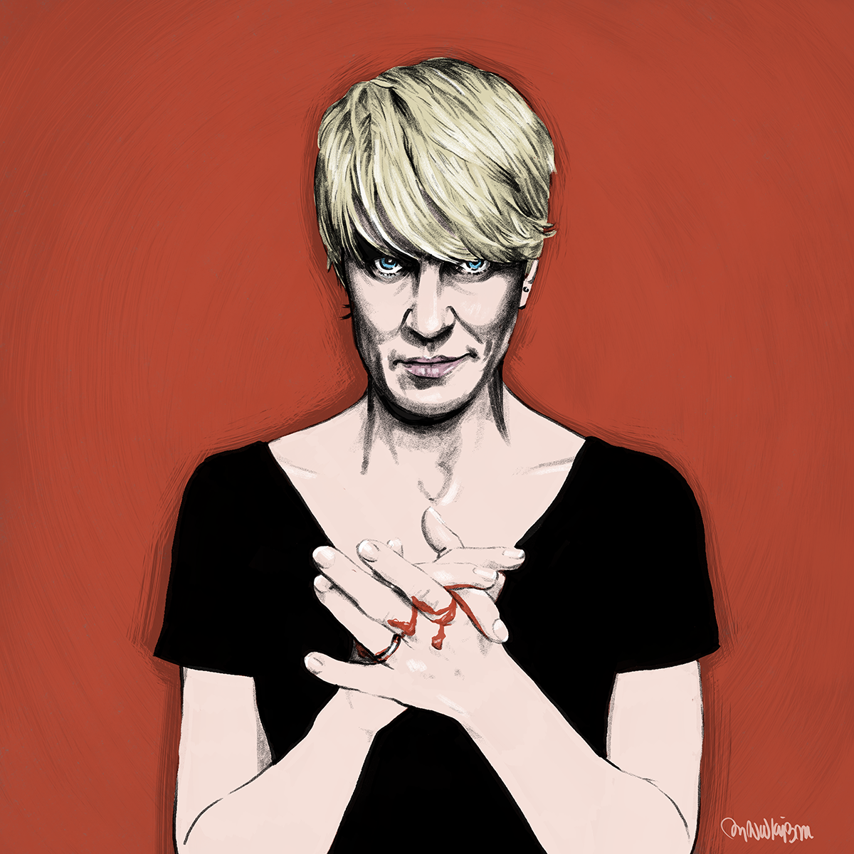 Claire Underwood    —  Self-initiated illustration of Robin Wright from Netflix's House of Cards