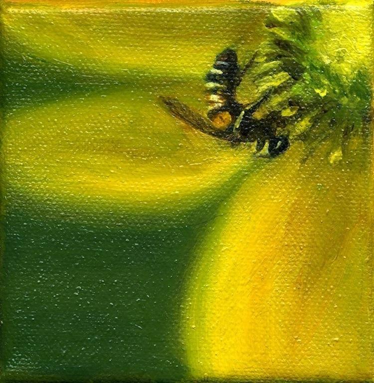 """Oil on canvas  4x4""""  ©ggautreau"""