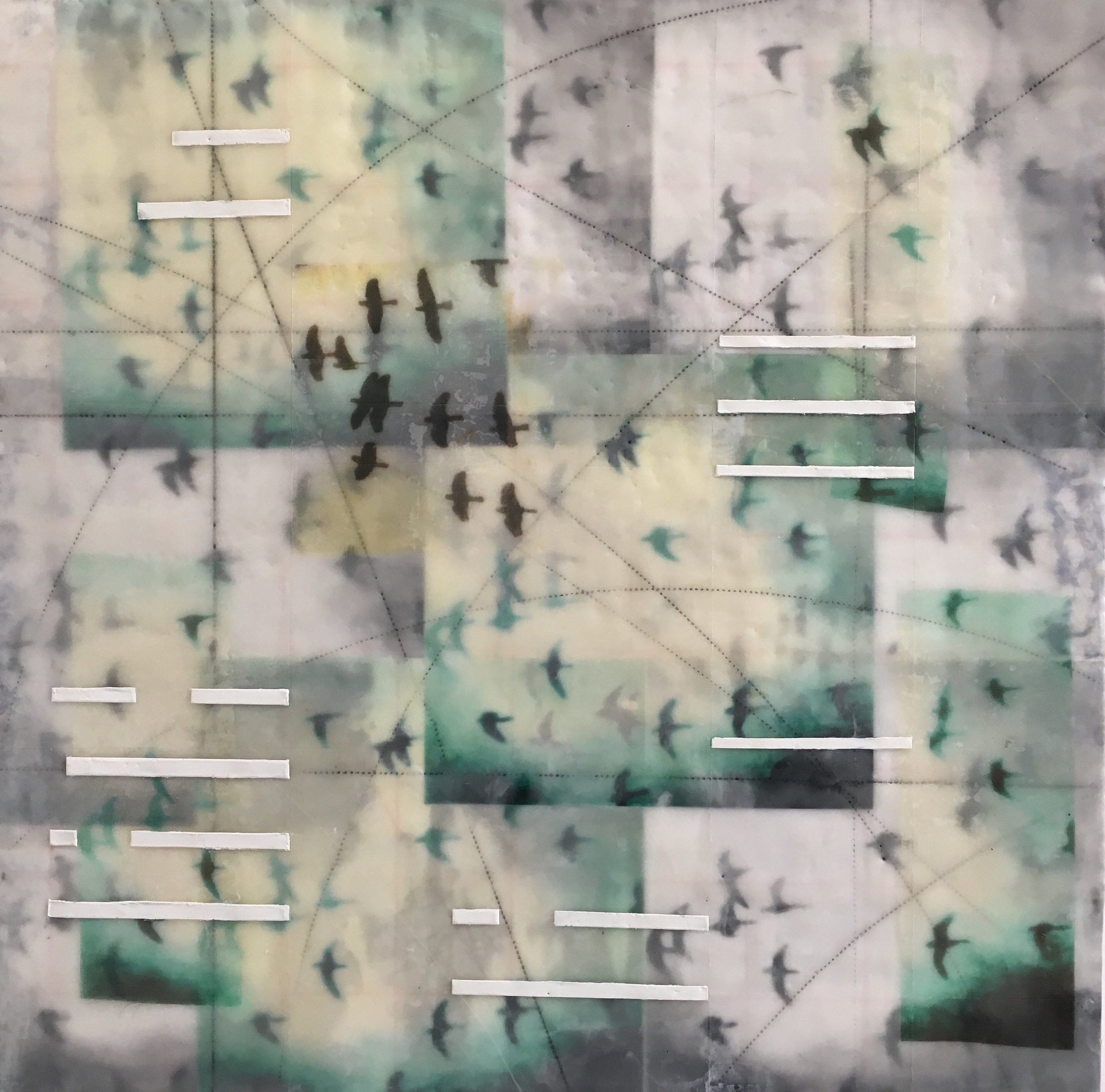 Gautreau.Flight Pattern II.24x24%22.encaustic:panel.2018.jpg