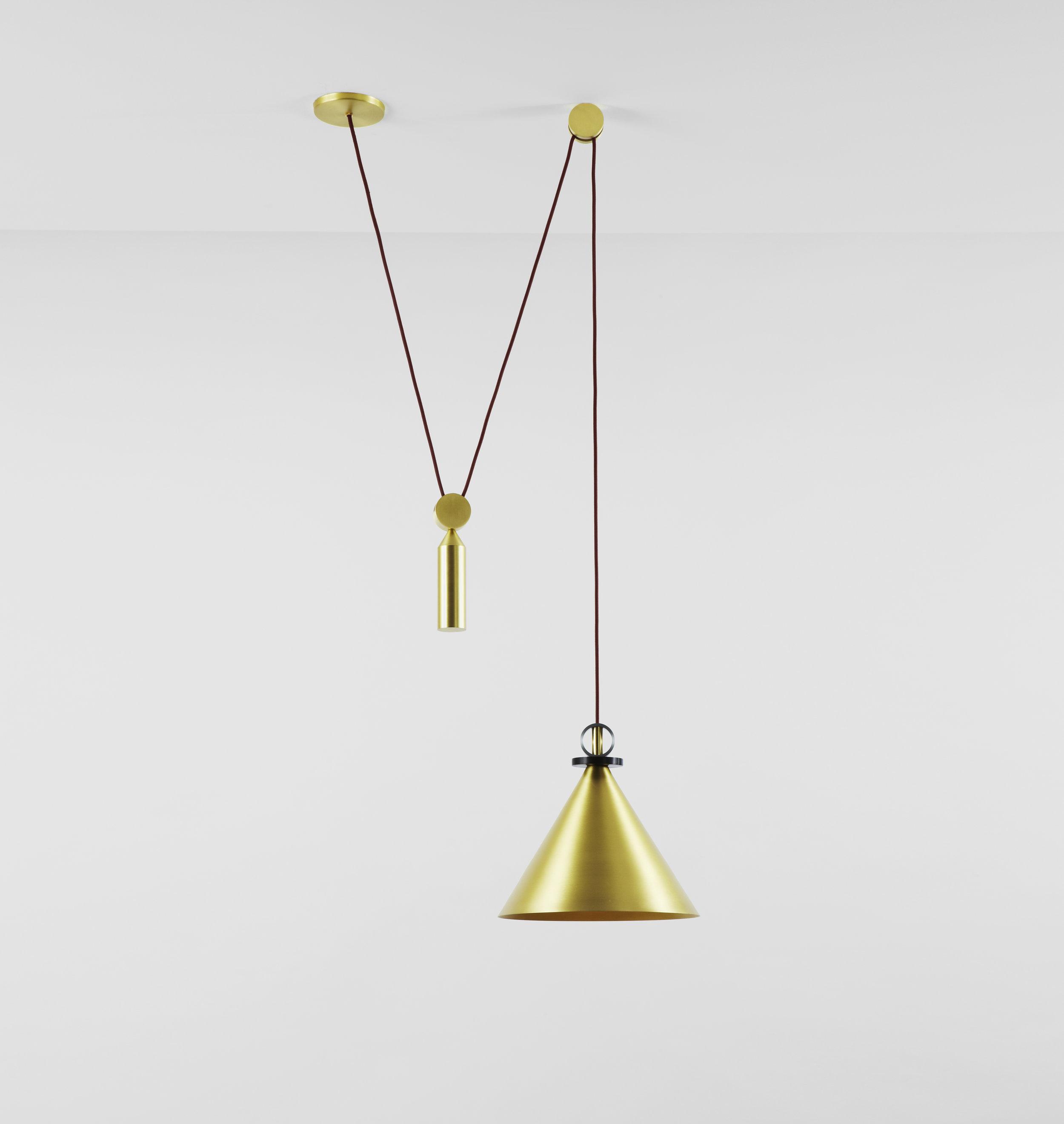 Pendant - Brass Cone.jpg