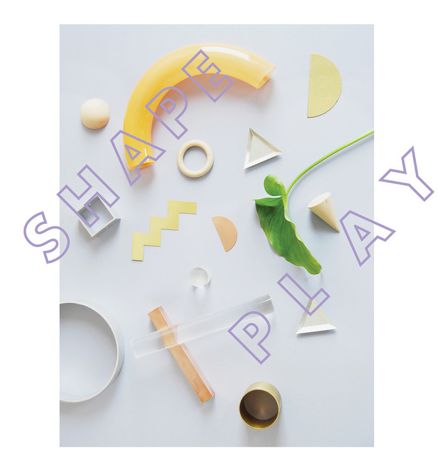 SHAPE PLAY SOLO EXHIBIT AT POKETO  Installation design / Exhibition /