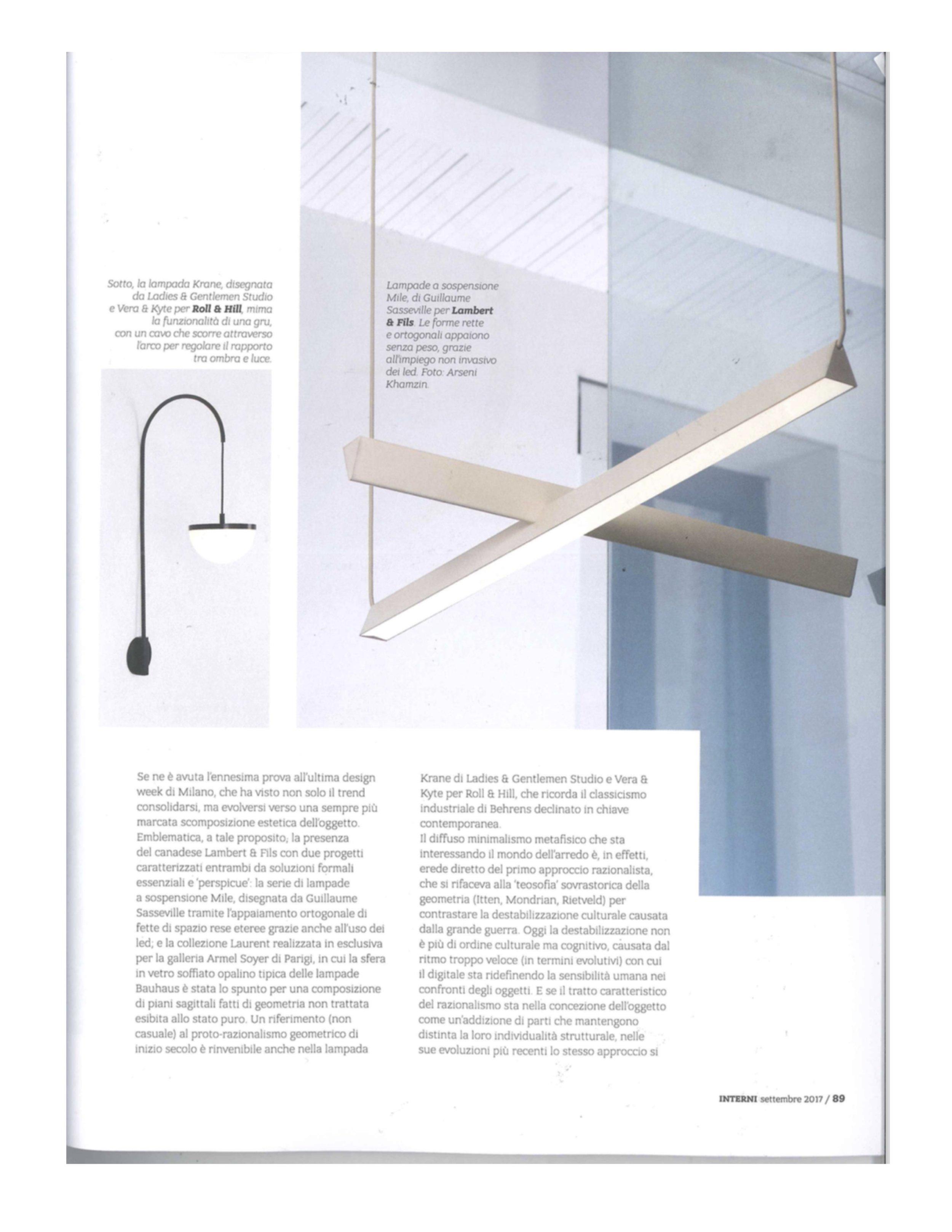 Lampada Da Studio Design interni / sep / 2017 — l & g studio