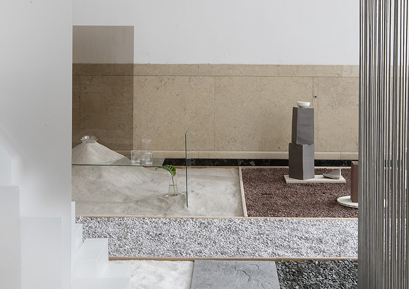MUJI MATERIALS GARDEN  Installation