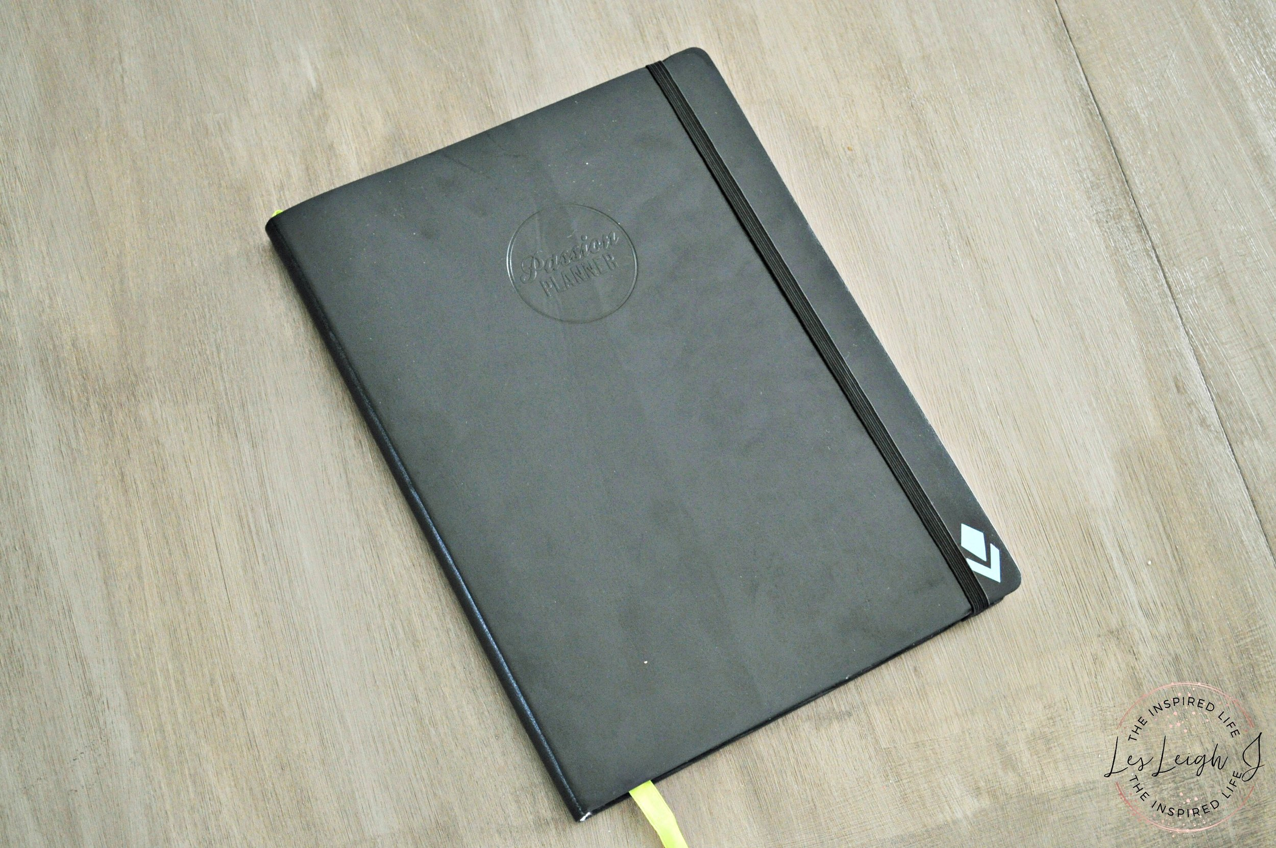 Passion Planner in Black
