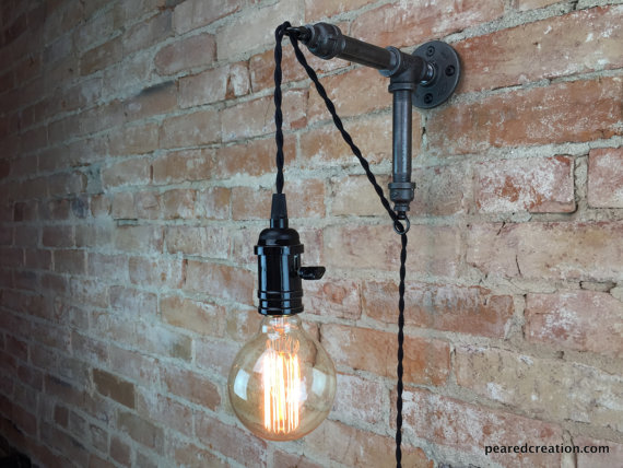 New Wine Old Bottles- Industrial Wall Sconce.jpg
