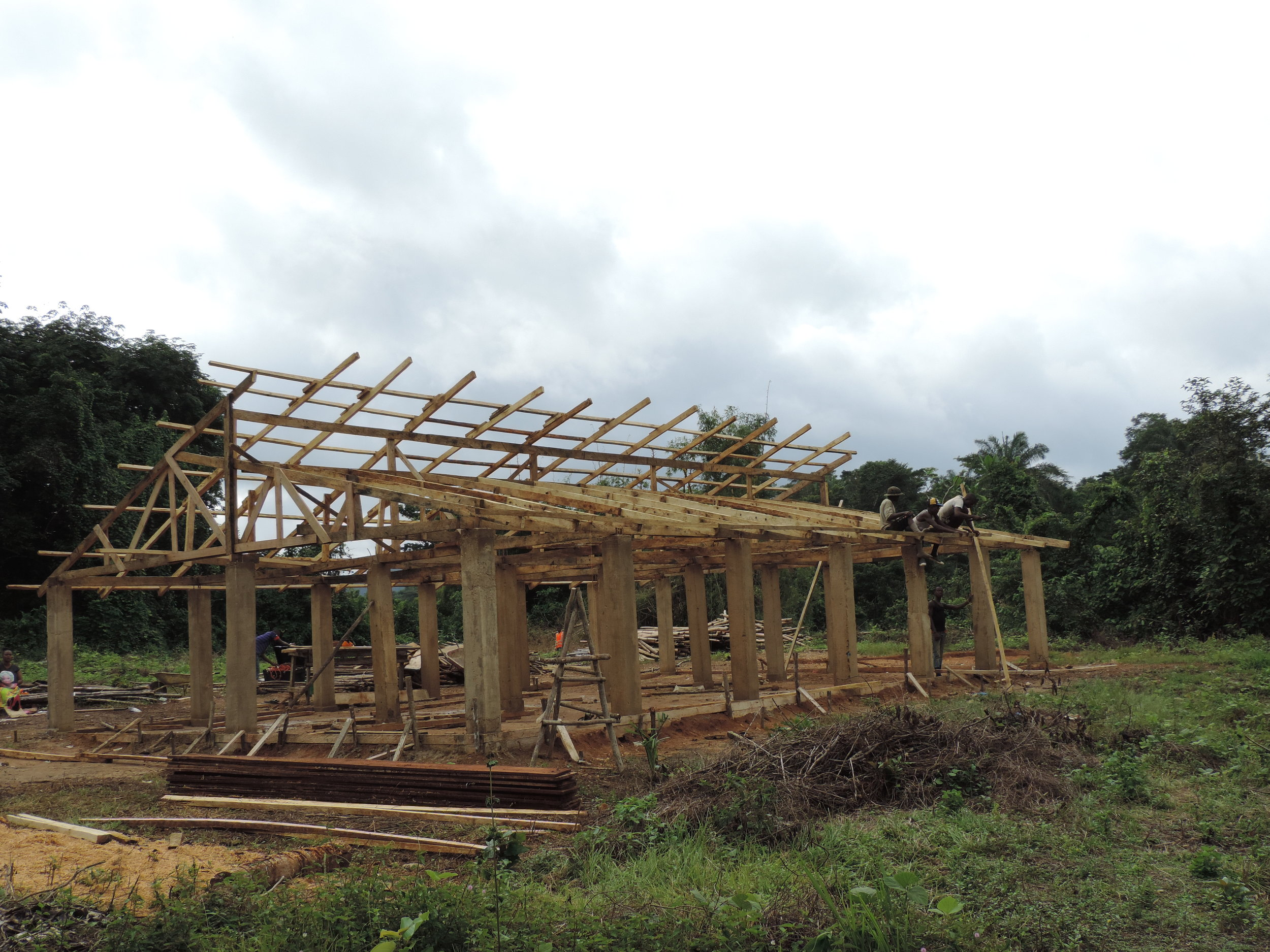 INFRASTRUCTURE RESTORATION - Our goal is to see rural Liberian villages flourish in freedom, as together we build a sustainable infrastructure to cultivate renewal and healthy communities. This means that we also help develop the basic physical needs for sustainable living which may include access to renewable food supplies, clean water, safe shelter, sanitation, education, medical care and more.