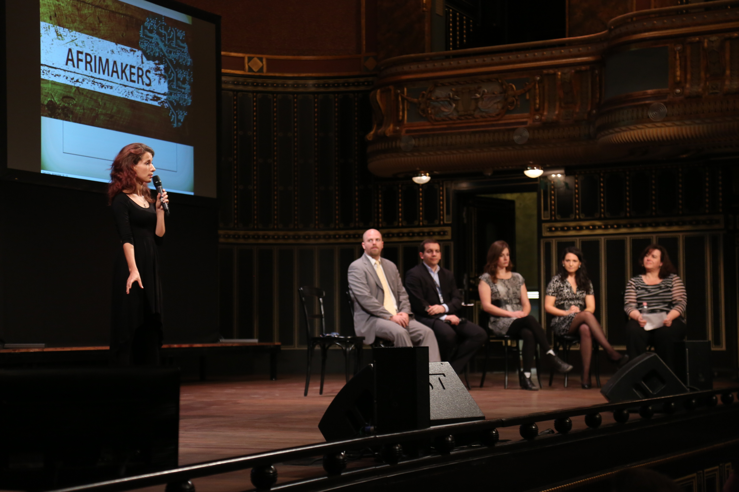 Picture from the launch at the Singularity University Summit in Budapest.