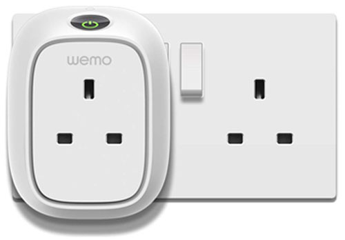 WeMo switches enables existing non smart technology to become 'smart'