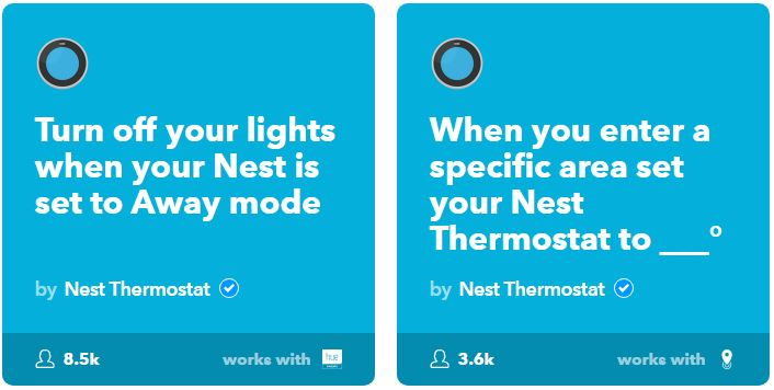 IFTTT allows users to create or download applets or recipies to get the most out of smart technology