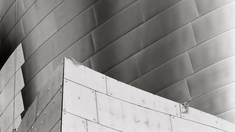 Disney Hall Construction, Los Angeles, 2001