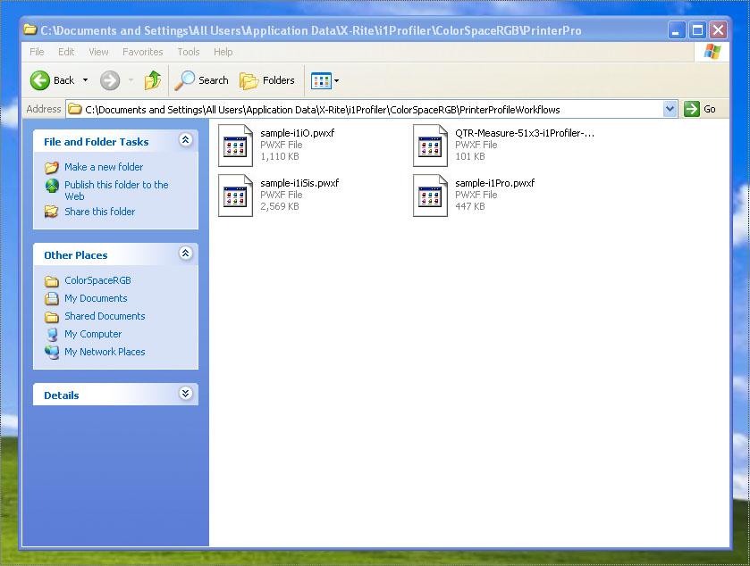 Drag workflow to this folder on Windows
