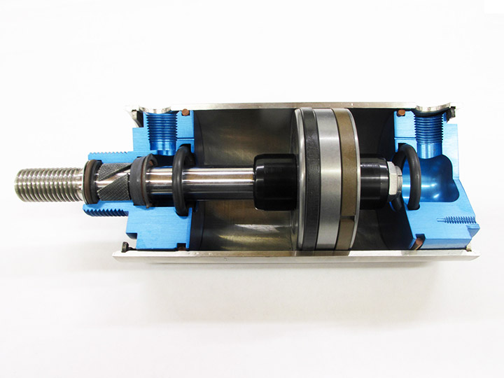 CPI pneumatic cylinder with PTFE infused components