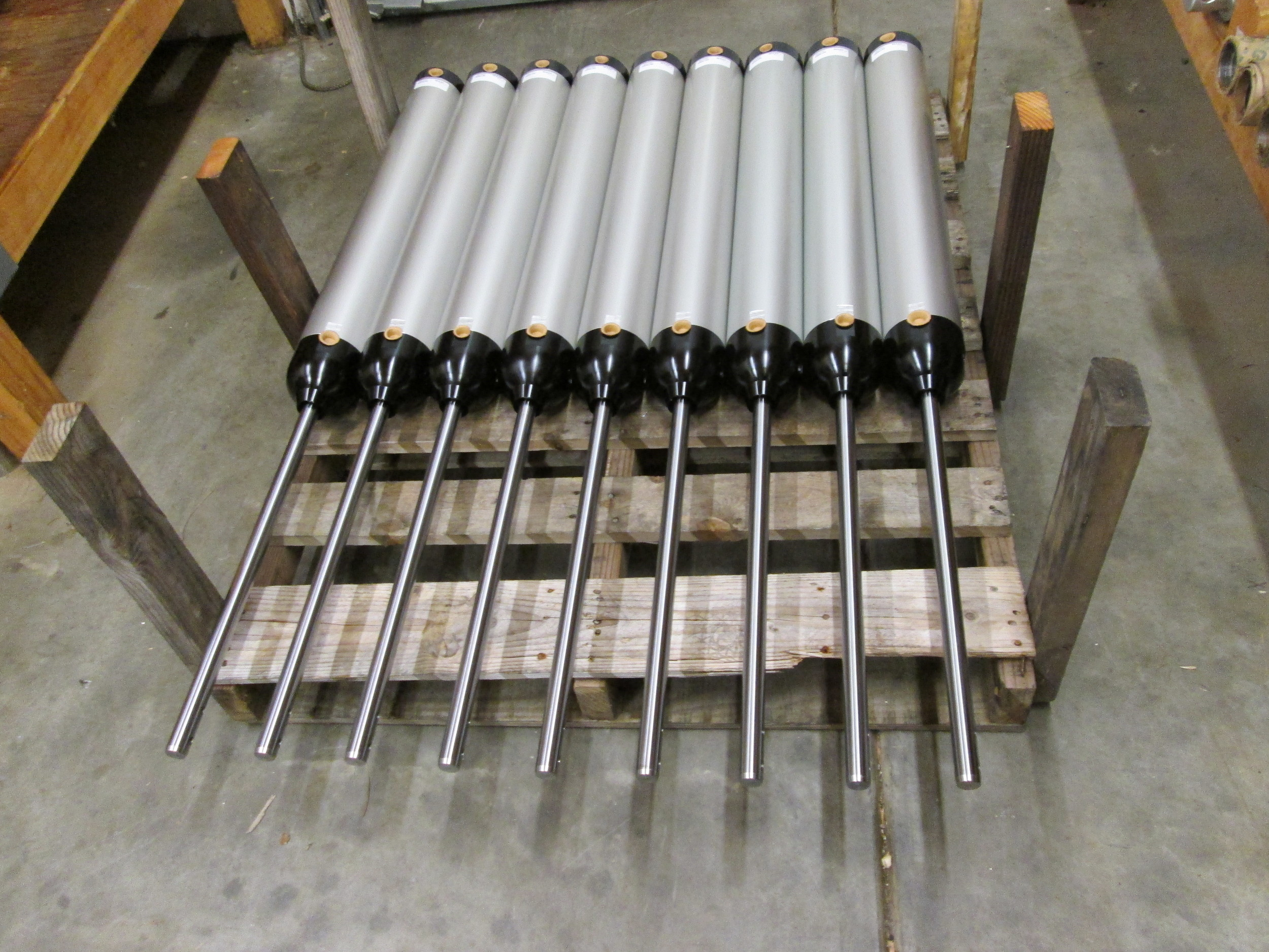 PAPER AND PULP CYLINDERS