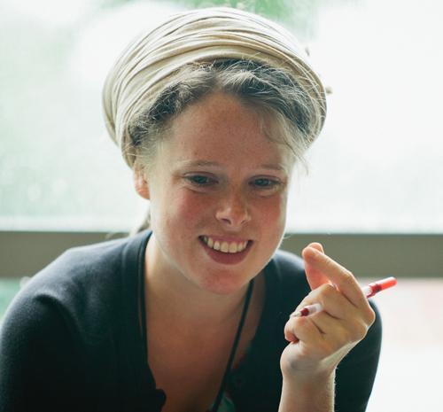 The author, Elena Kaye-Schiess