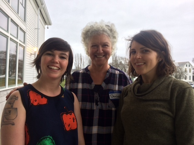 Madeline Moore, Denise Pranger, and Malloree Weinheimer (left to right) lead Rethinking Rural, a national network of millennials dedicated to creating resiliently vibrant communities. (Photo from Madeline Moore).