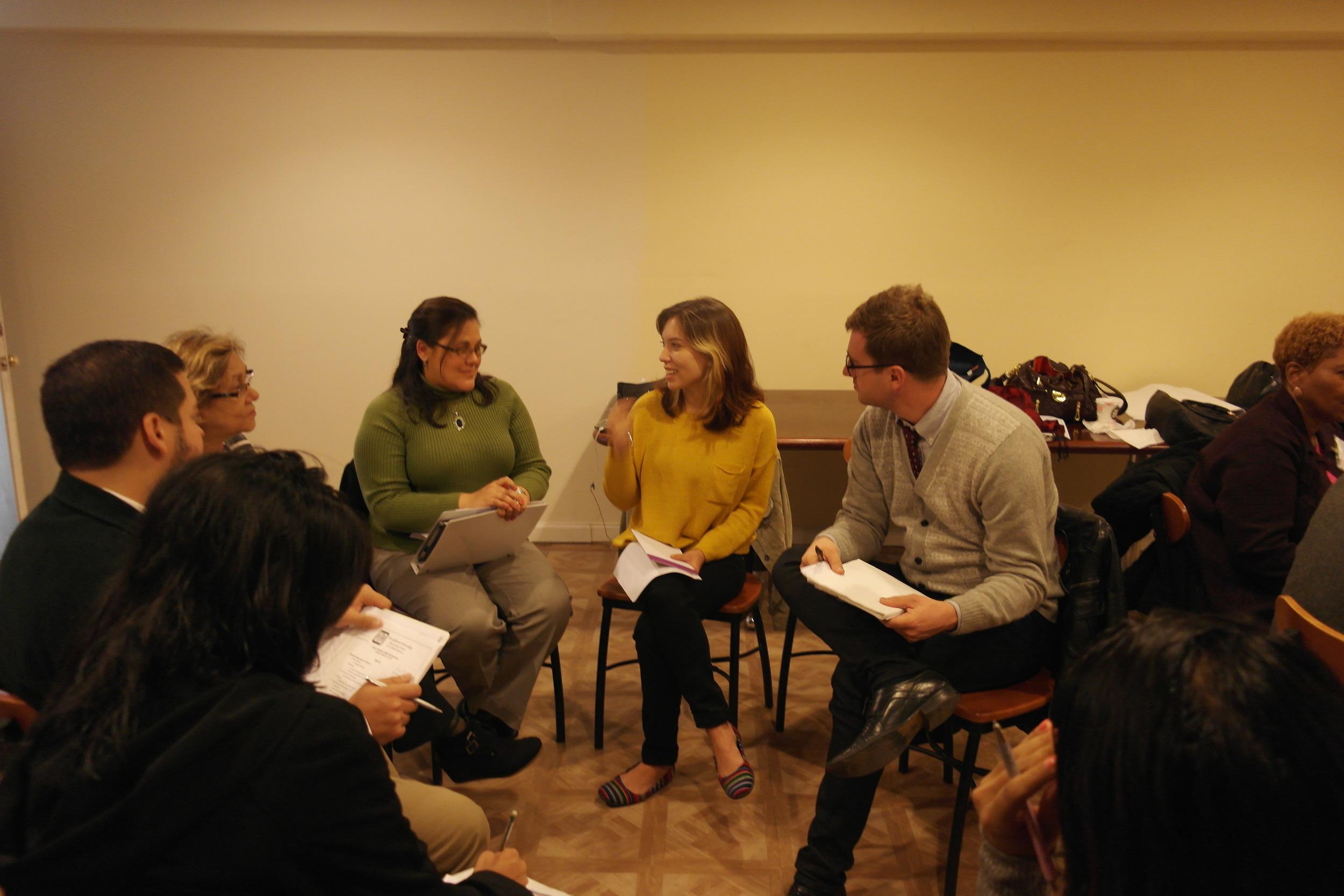 Grant Making Committee Meeting 2014-2015