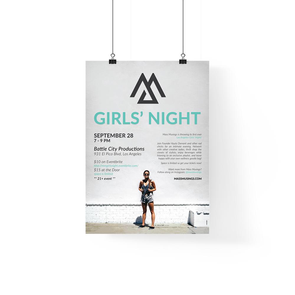 Mass Musings Girls' Night