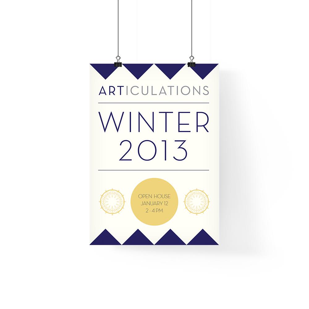 ARTICULATIONS Winter 2013 Calendar