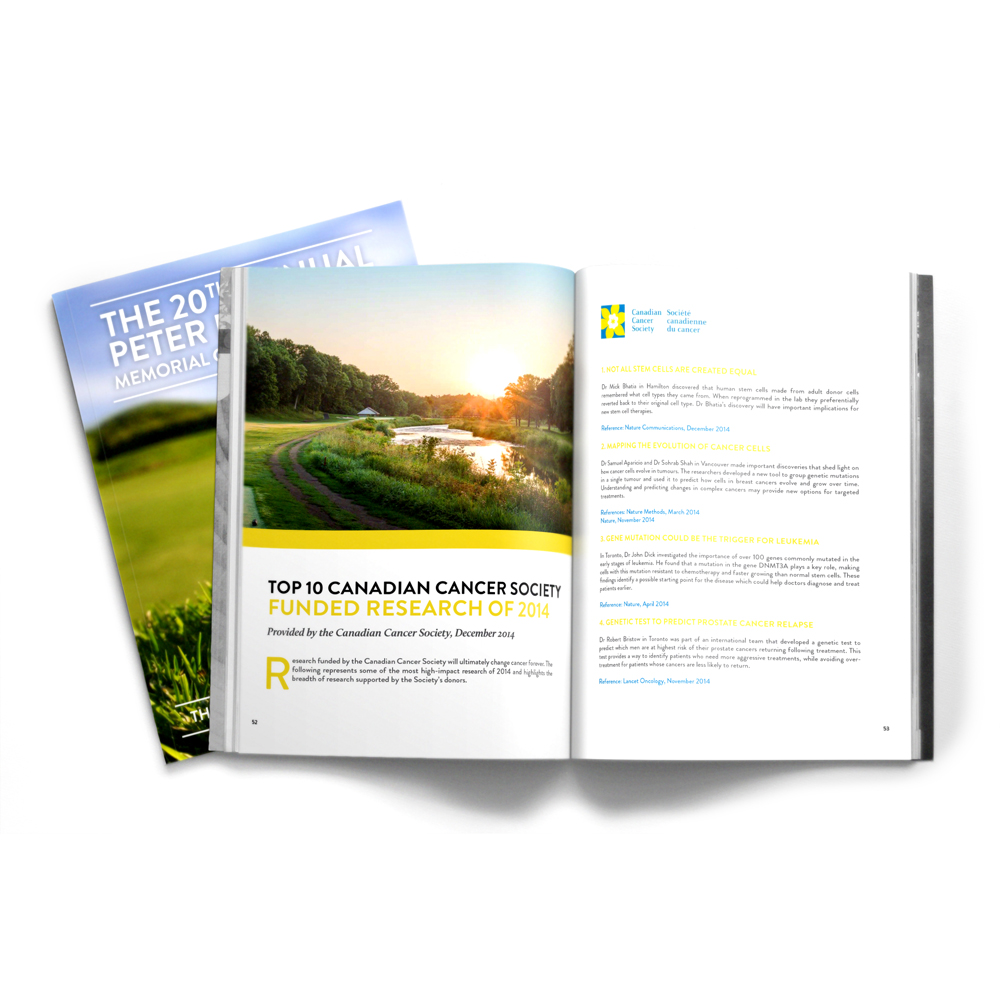 The 20th Annual Peter D'Attoma Memorial Golf Tournament Commemorative Book