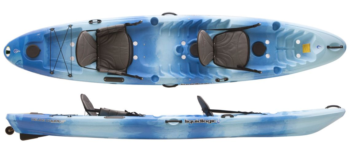 - Sit-on-Top Double Kayak (2 adults)13' Long, 33