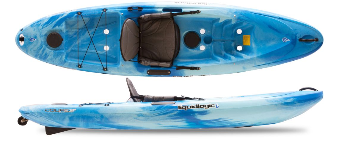 - Sit-on-Top Kayak (1 adult/1 small child)10' Long, 30