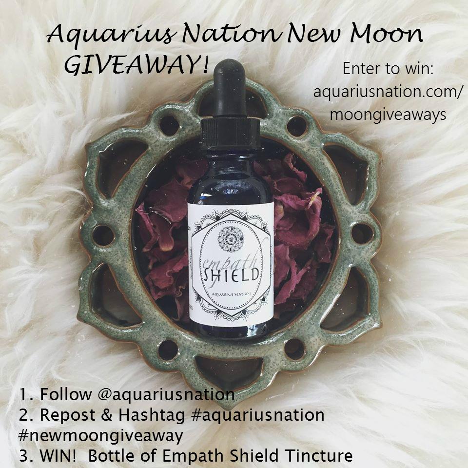 Aquarius Nation New Moon Giveaway