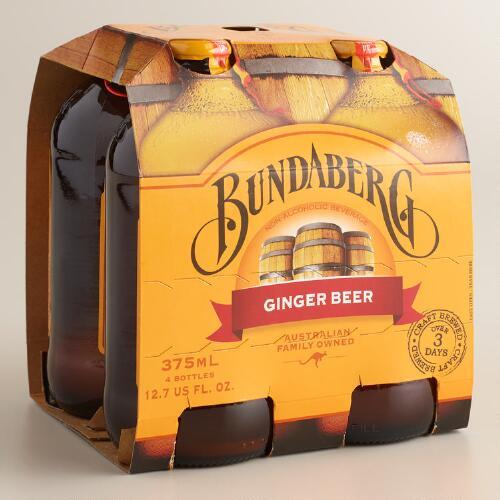 Bundaberg Ginger Beer, 4-Pack