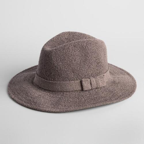 Taupe Knit Rancher Hat
