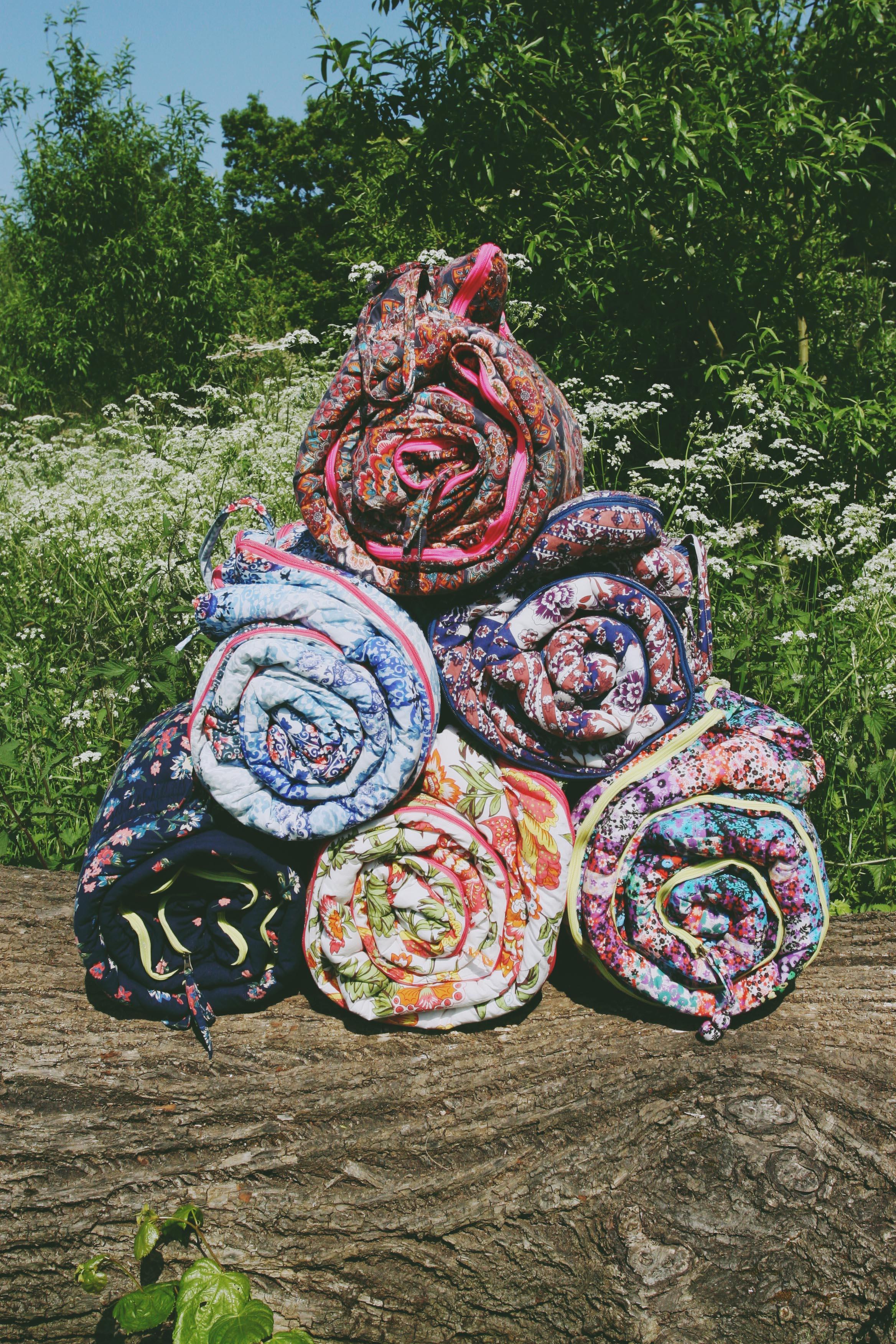 Sleeping Beauties Boho Sleeping Bags via bohocollective.com