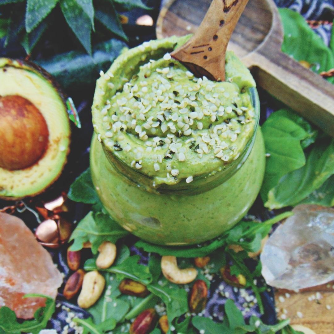 Homemade Pistachio Pest via bohocollective.com