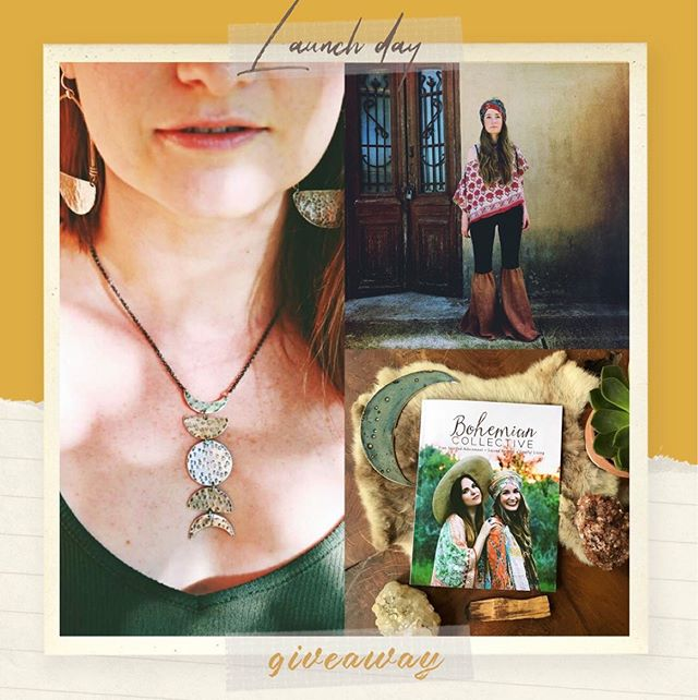 FRIENDS! It's officially release day for our summer issue of The Bohemian Collective magazine!!! 🙌🏼⁣ ⁣ In honor of the magazine releasing we of course have an amazing giveaway coming your way! Today we are gifting you the following: 🙌🏼⁣ .⁣ THE GOODS:⁣ ⁣ ✨ A beautiful necklace from Jen Kahn Jewelry. ⁣ @jenkahnjewelry ⁣ ⁣ ✨Summer issue of The Bohemian Collective Magazine. ⁣ @bohemiancollective⁣ ⁣ ✨ Kantha Bae $100 gift card⁣ @kanthabae⁣ ⁣ TO ENTER:⁣ ✨ You must please follow each of the shops listed. ⁣ ⁣ ✨ Tag all your girlfriends who you think would also enjoy winning these goodies! ⁣ .⁣ DEETS:⁣ ✨ Giveaway will run through Wed, June 19th, winner will be announced on this post the following day.⁣ ✨ Giveaway is not associated with Instagram⁣ ✨Don't forget to snag your issue of the magazine today to see these makers and so many more - Link in profile. ❤️⁣ ⁣ #supportsmallbusiness #supporthandmade #makersgiveaway #celebratethemakers #makeartnotwar #bohobabe