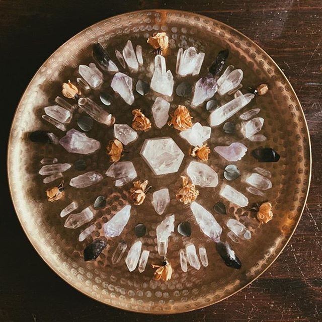 Beautiful crystal collection via @cosmicmegan ✨✨✨ Tell me, what is your favorite crystal or gemstone and why?
