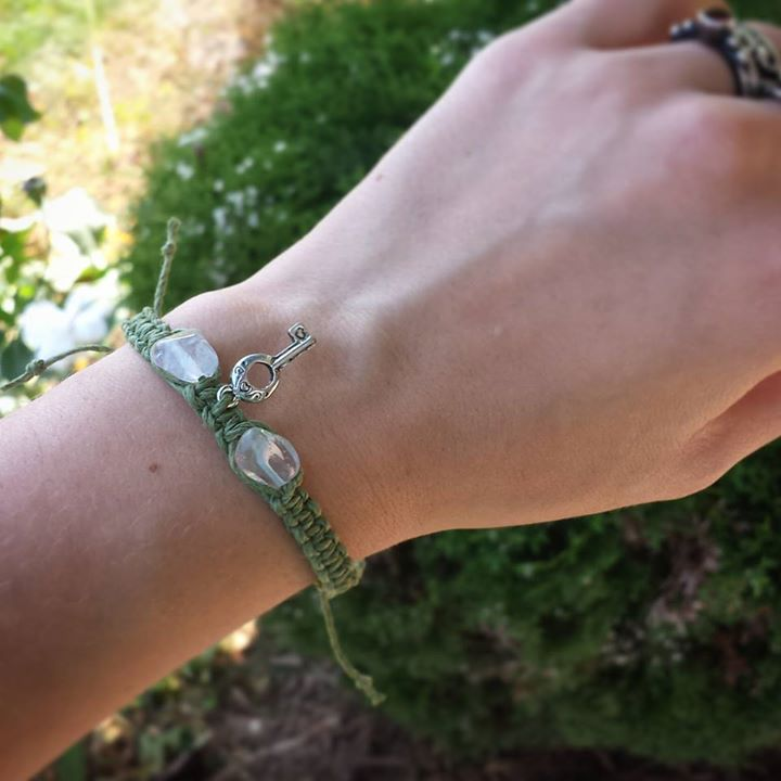 """""""My manifestation bracelet is giving me more confidence to pursue my dreams... I'm receiving more of my own magic - the bracelet is helping to dissolved old resistance to change and letting go of things that don't serve me anymore! Thank you Kittie!!!""""  - Katie Grace Anderson"""