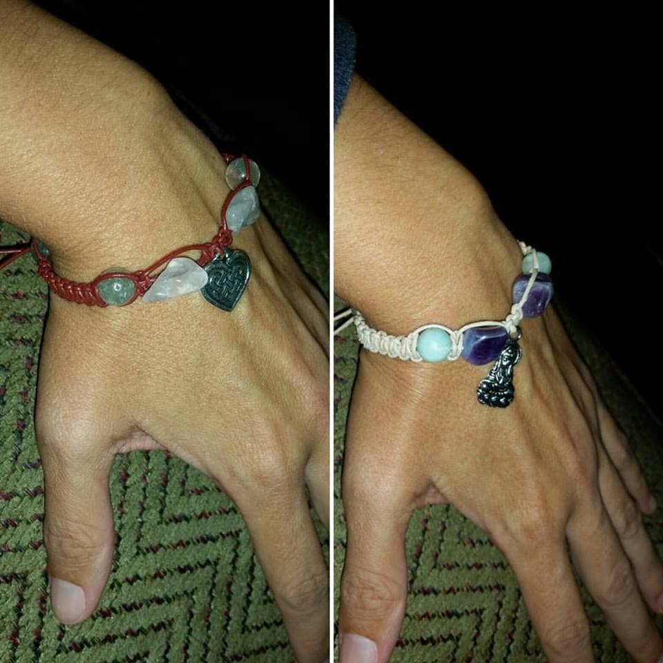 """Loving my new Talismana bracelets! Thank you Studio Kittie!""  - Donielle Saxton"