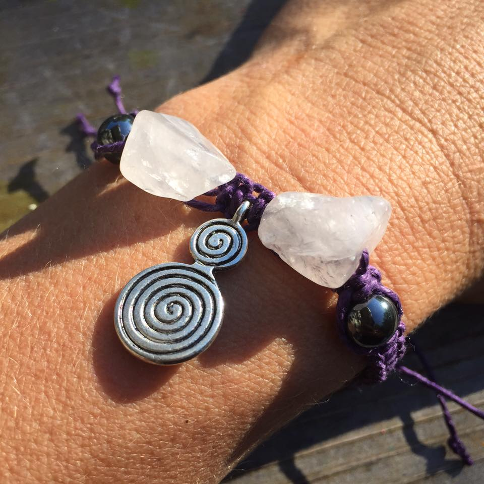 """""""This absolute beauty arrived in the mail today! My manifestation bracelet from Studio Kittie  ! Love love love!!!!""""  - Mellie Rose Test"""