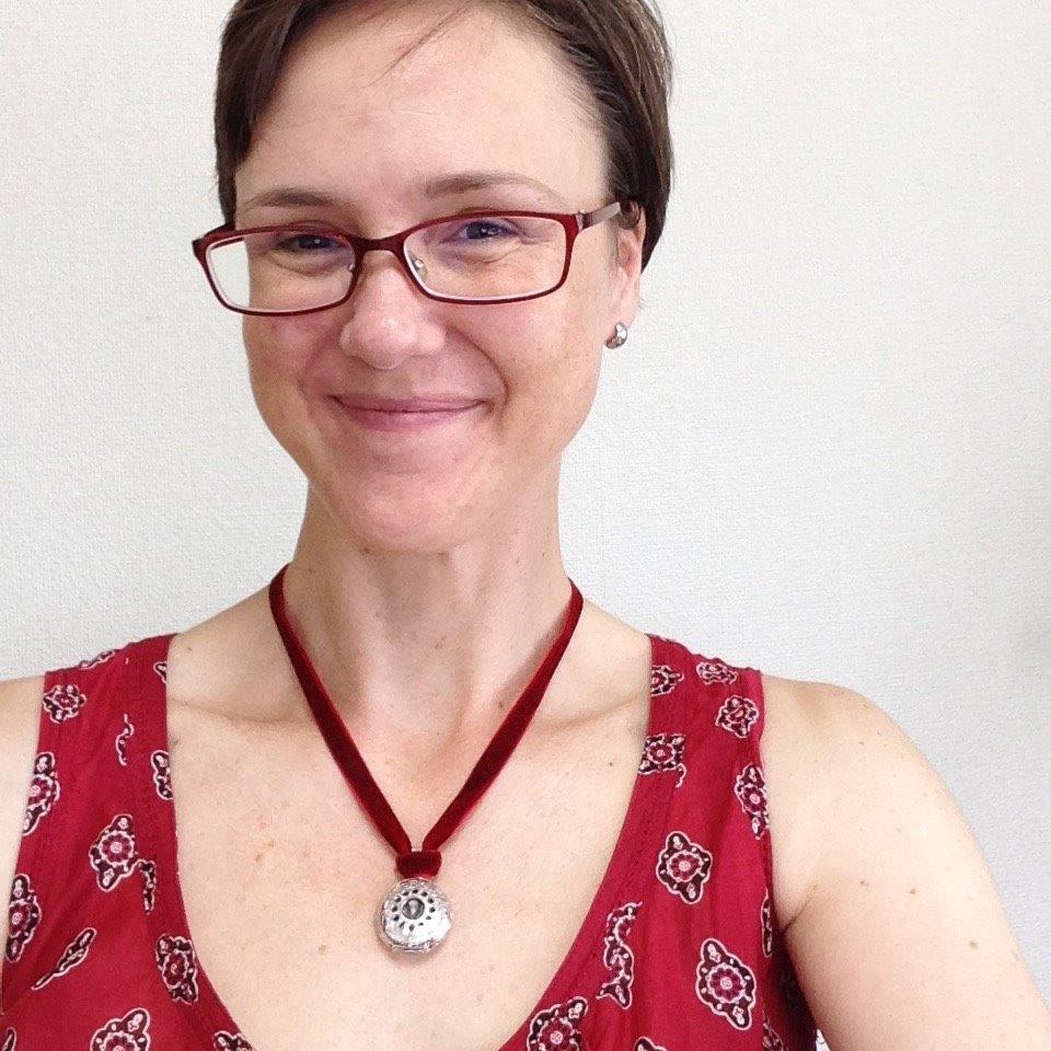 """A very happy customer!I feel grounded and empowered!""  - Marci Kobayashi-Smith"
