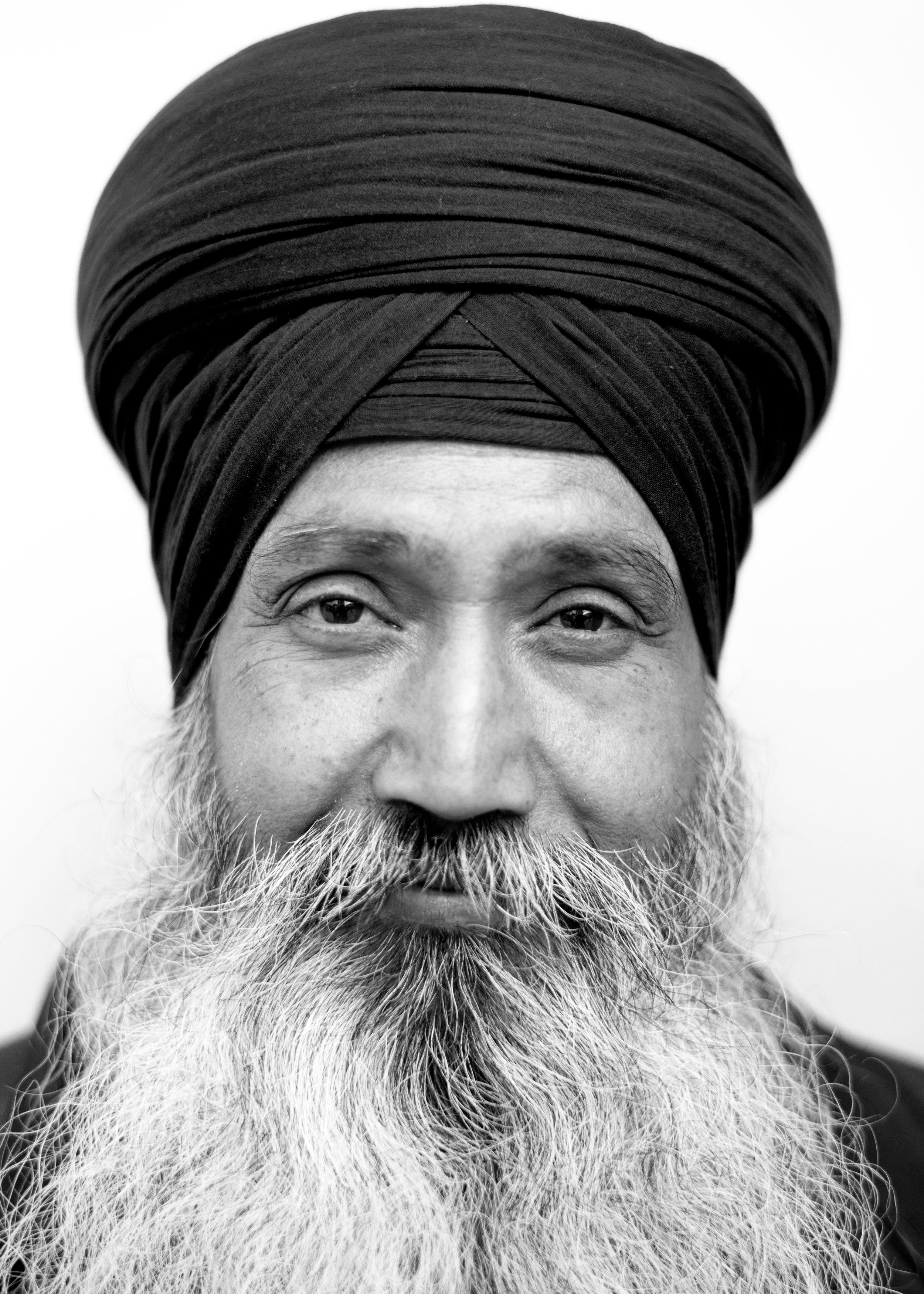 Sikh man, London