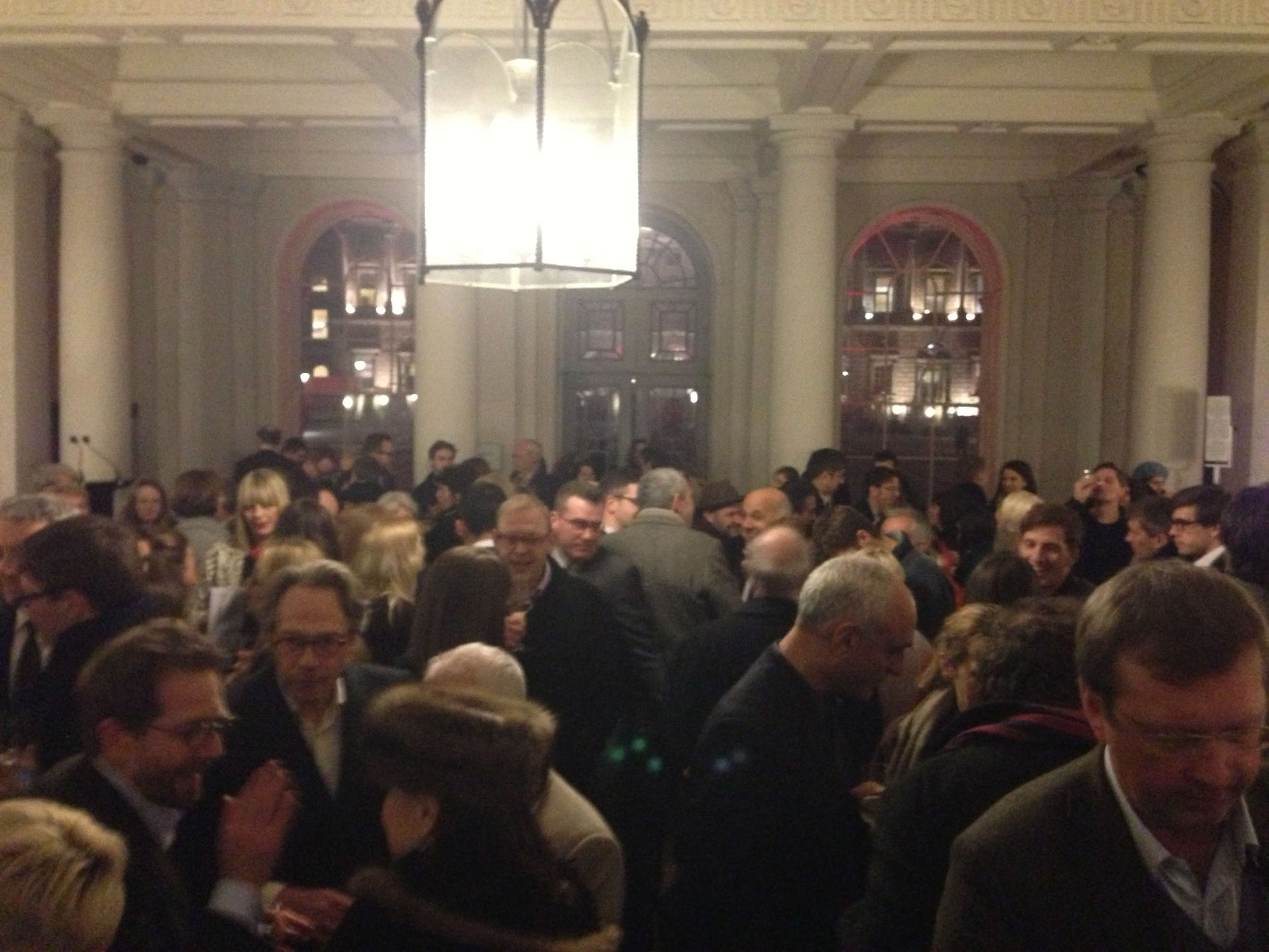 The crowded somerset house