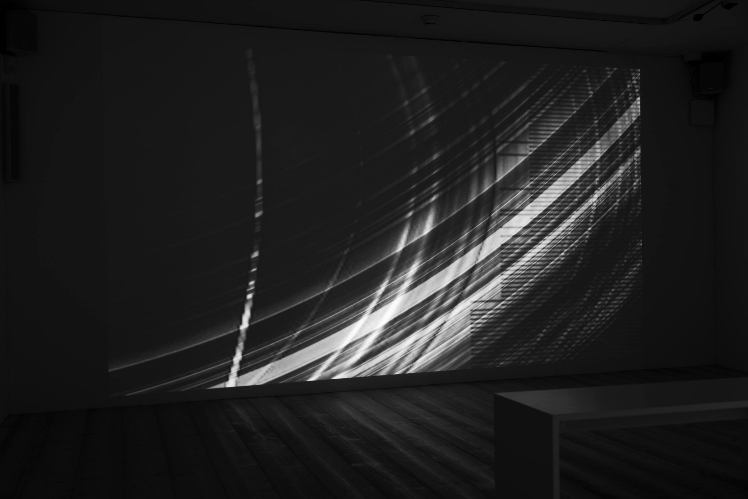 La flèche du temps, boucle vidéo, 19' 37'', musique originale