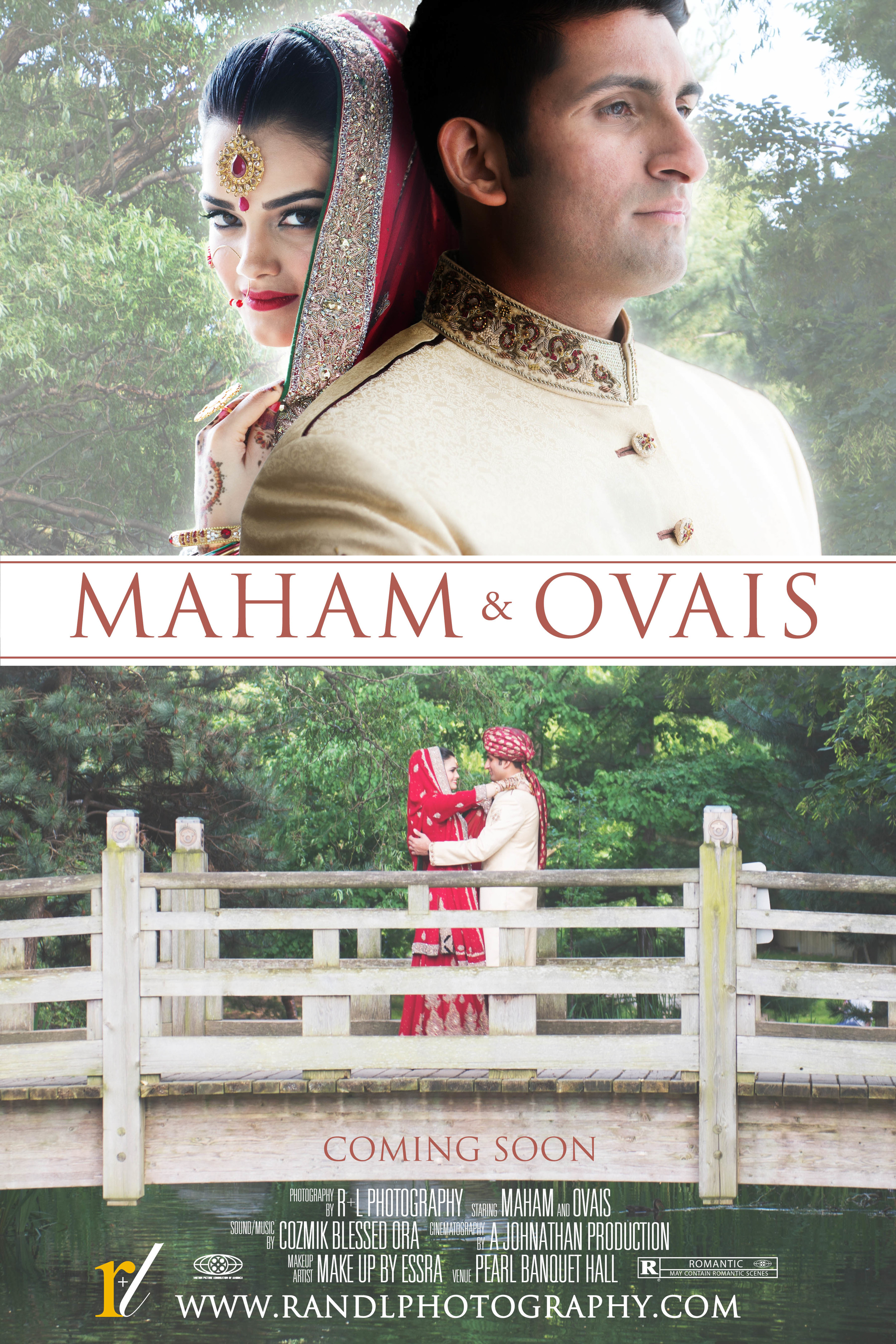 Maham + Ovais Wedding Poster