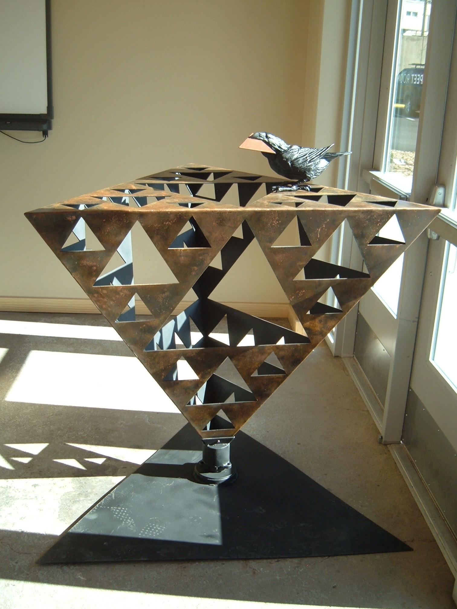Sierpinski Triangle (it spins!!)