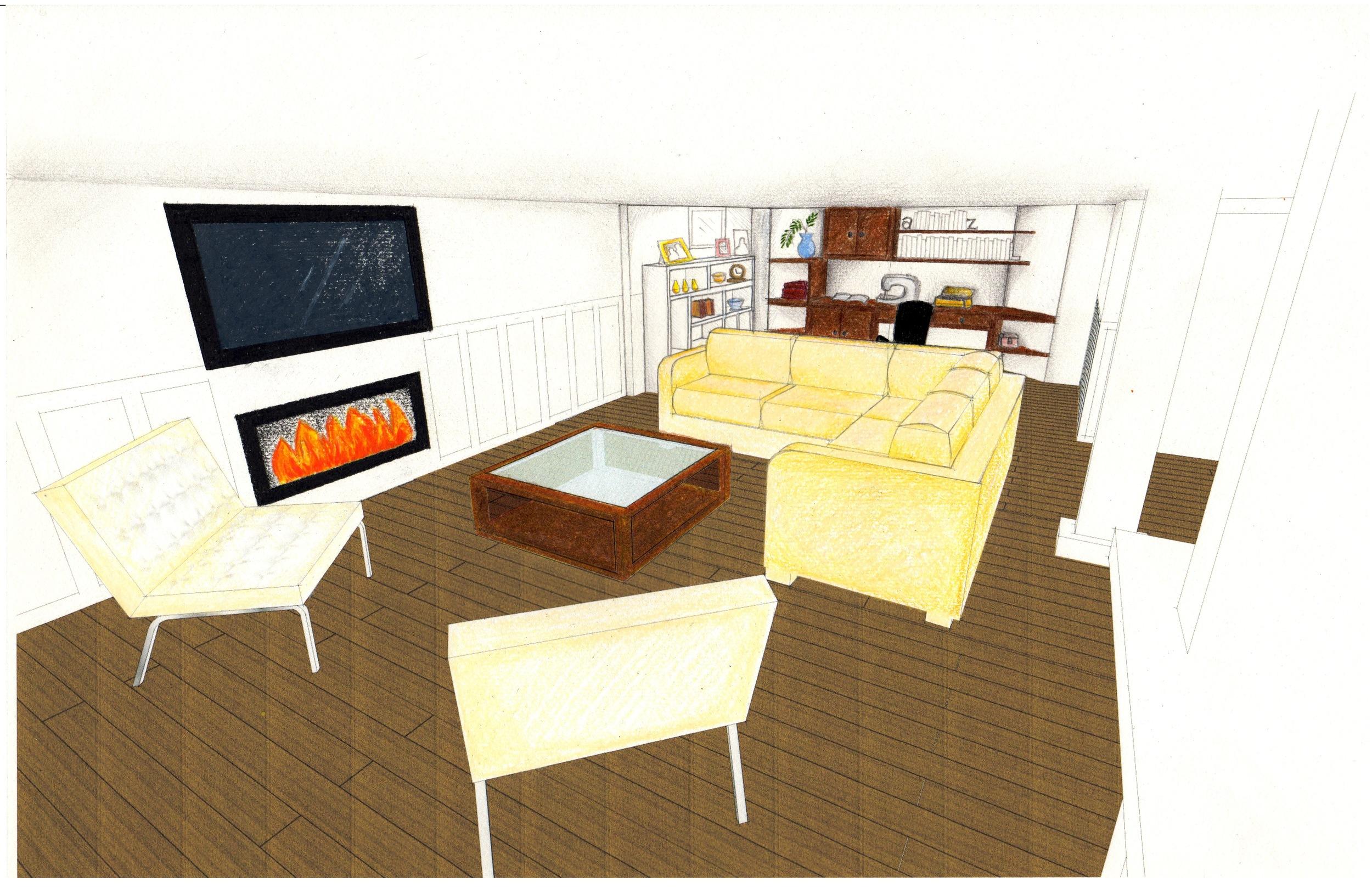 Final design, view 1